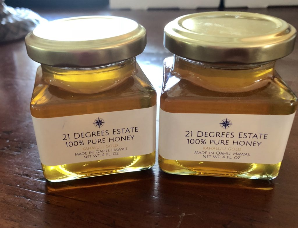 21D Kahalu'u Gold Honey